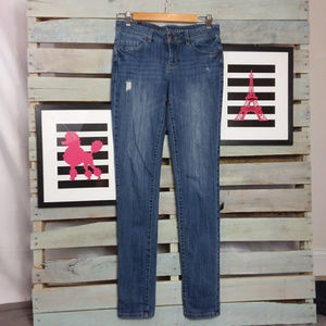 LC Lauren Conrad Skinny Jeans Distressed Denim